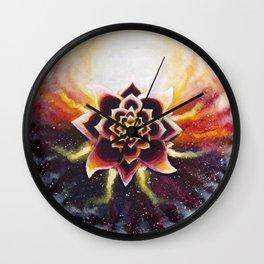 The Healing Spirit of Yamaras Wall Clock