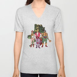 Team Greyskull Unisex V-Neck