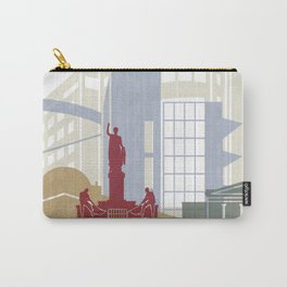 Nicosia skyline poster Carry-All Pouch