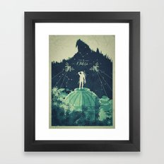 A Man of Fortune Framed Art Print