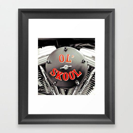 Ol' Skool Framed Art Print