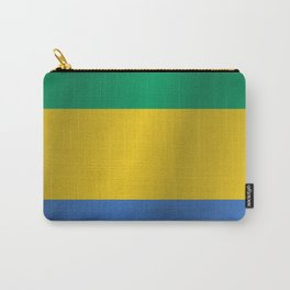 Flag of Gabon Carry-All Pouch