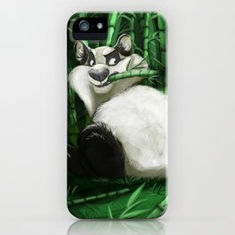 the guardian of the bamboo forest iPhone Case