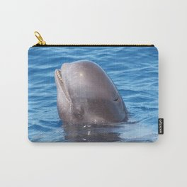 Cute wild pilot whale baby Carry-All Pouch