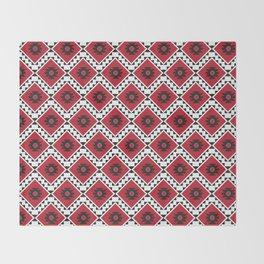 Bulgarian Folklore Inspired Design - KANATITSA Throw Blanket