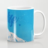 paradise Mugs featuring Paradise by RDelean
