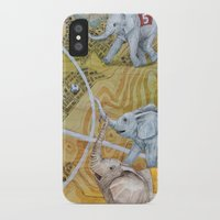 football iPhone & iPod Cases featuring Football by Ruta13