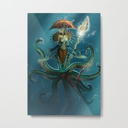 Deep Fear Metal Print