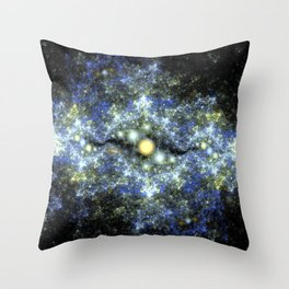 The Starry Sky at Night. Throw Pillow