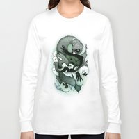 nightmare Long Sleeve T-shirts featuring Nightmare by Gaetan billault