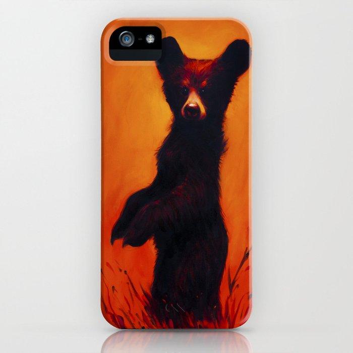 Ursidae Infantem Saevus (bear cub rage) iPhone Case