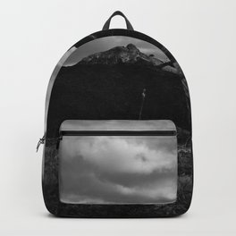 Dramatic Clouds over Mountain Range in Big Bend Backpack