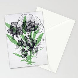 Telescopes on the seabed Stationery Cards