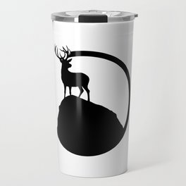 deer pose Travel Mug