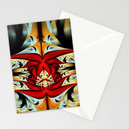 Souls of Red Peony Stationery Cards