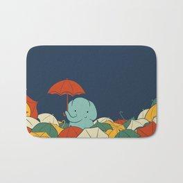 Umbrellaphant Bath Mat