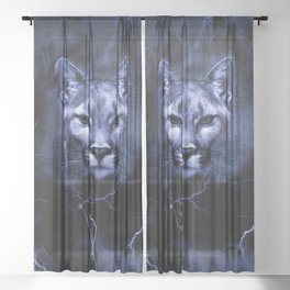 COUGAR Sheer Curtain