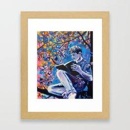 Jacaranda Dreamer Framed Art Print
