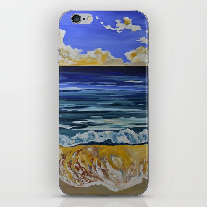 Summer Days Don't Go Away iPhone Skin