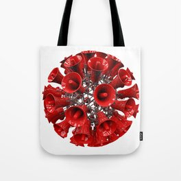 Ball of loud Tote Bag