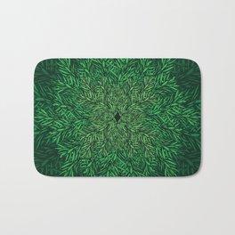 All Pine Needles Pattern I Bath Mat