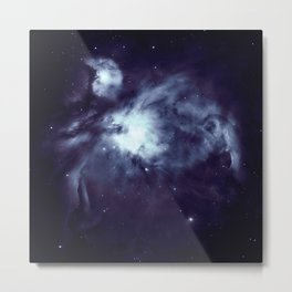 Orion Nebula Deepest Blue Metal Print