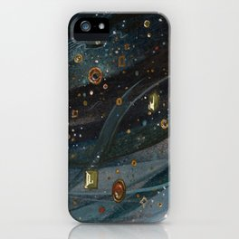 The Veil of Night iPhone Case