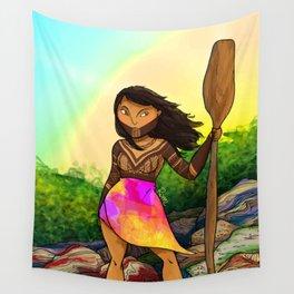 Embera girl Wall Tapestry