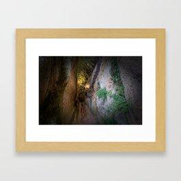 Via Cava Framed Art Print