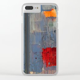 Love Abstract Clear iPhone Case