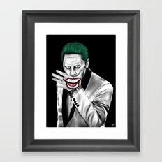 The Last Laugh Framed Art Print