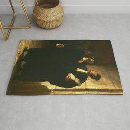 "Honoré Daumier ""Three Lawyers"" Rug"