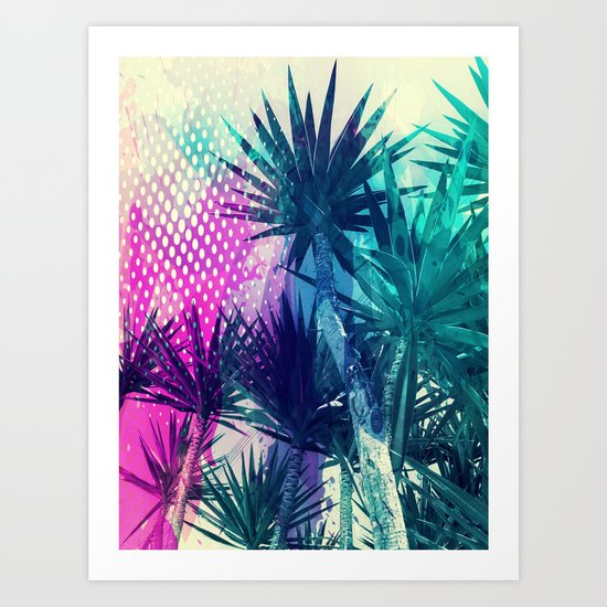 Tropical Explosion Art Print
