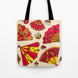 Red Fans Tote Bag