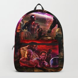 battle to defend the world Backpack