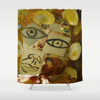 philadelphia Shower Curtains featuring Philadelphia by dormiveglia
