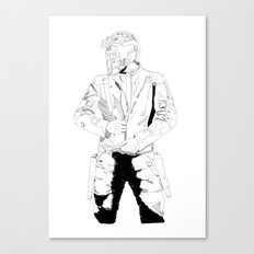 Illustration Peter Quill - made with Adobe Ideas Canvas Print