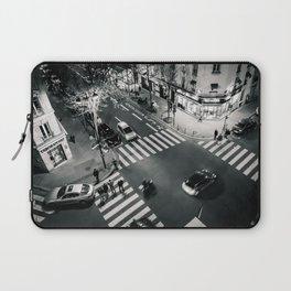 Paris Streets Laptop Sleeve