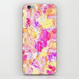 Wild Cactus Splash iPhone Skin