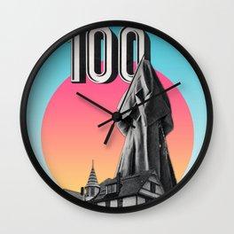 100 Nuns Wall Clock