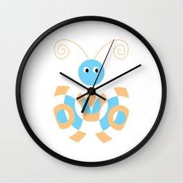 Butterfly Pattren Wall Clock