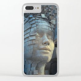 Dissolution of Ego Clear iPhone Case