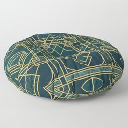 Art Deco Elegant Gatsby Style Floor Pillow