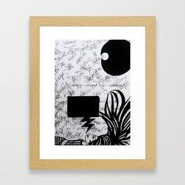 brainstorming Framed Art Print