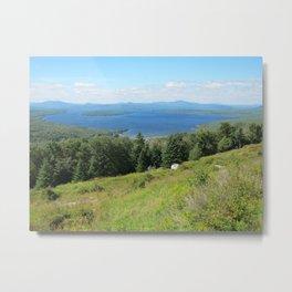 Maine Hillsides Metal Print