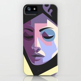 Girl in hijab iPhone Case