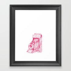 Camera Sketch 2 Framed Art Print