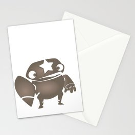 minima - slowbot 004 Stationery Cards