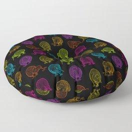 Hungry Kiwis – Disco Palette Floor Pillow