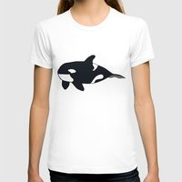 killer whale T-shirts featuring Orca/Killer Whale by Nemki